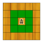 Shogi Pieces – The King