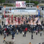 Human shogi played at Himeji Castle – News – NHK WORLD – English