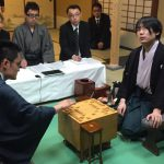 Satou Amahiko takes the lead at the Meijin final.